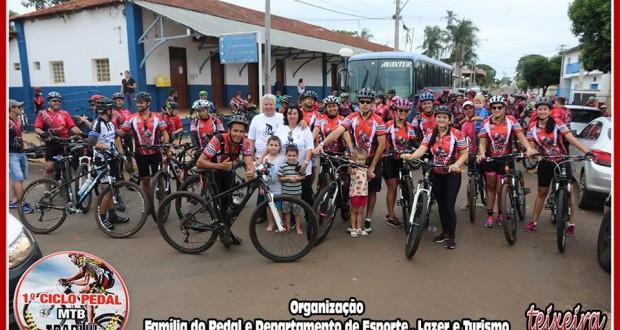 1º Ciclo Pedal de Trabiju conta com 300 ciclistas