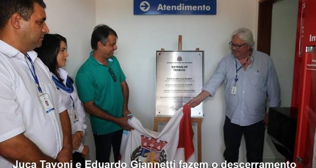 Posto de atendimento do Detran é inaugurado em Trabiju