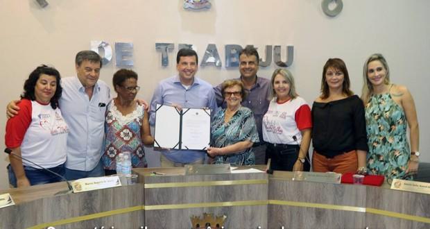 Convênio de R$ 250 mil para reforma do CCI é assinado em Trabiju