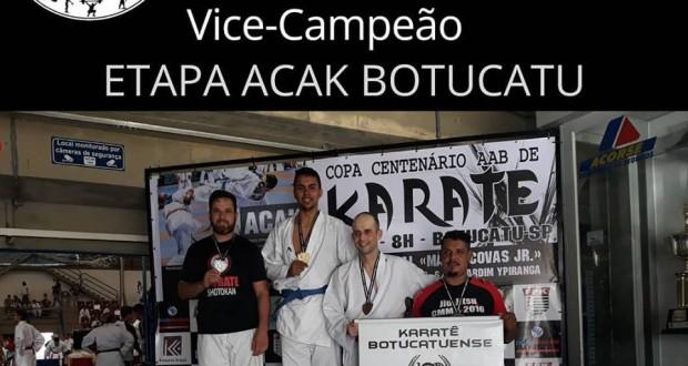 Donizete Garcia é Vice – Campeão do Circuito ACAK DE KARATE BOTUCATU
