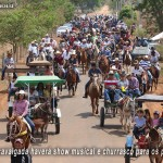Cavalgada de Trabiju é antecipada para o domingo dia 2 de setembro