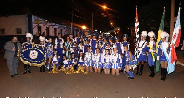 Banda Marcial recebe uniforme novo nos 23 anos de Trabiju