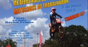05 de maio Motocross do Trabalhador