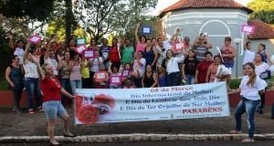 O Dia da Mulher em Trabiju teve muitas homenagens