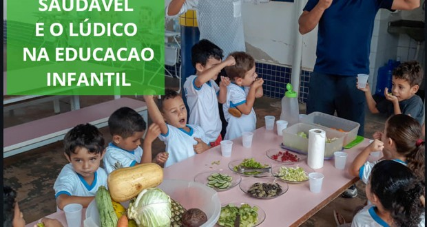 A alimentação saudável e o lúdico na educação infantil