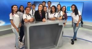 Alunos da EMEF Alfredo Evangelista Nogueira participam do Projeto EPTV na Escola