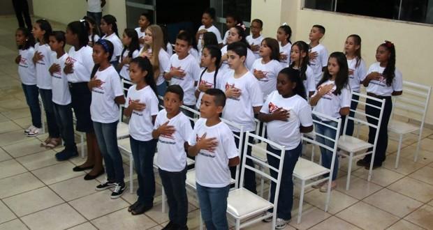 Proerd forma mais de 32 alunos em Trabiju