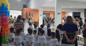 EMEI Antônio Lourenço Morales forma 22 alunos
