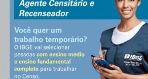 Processos Seletivos para o Censo Demográfico 2020