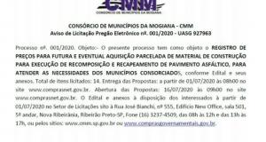 Consórcio de Municípios da Mogiana – CMM